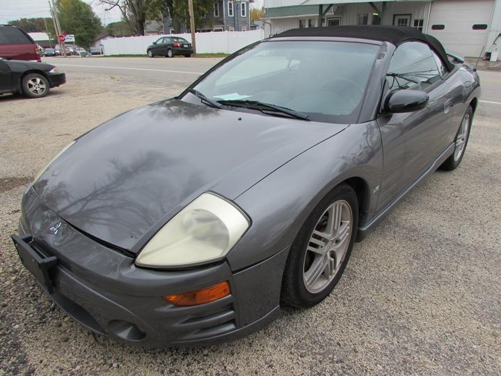 Damaged Mitsubishi Eclipse Spyder Car For And Auction 4a3ae55h53e148490